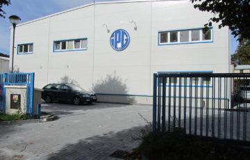Výrobní hala ve Vrbně pod Pradědem
