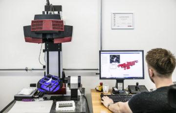 Optický scanner ATOS Triple Scan